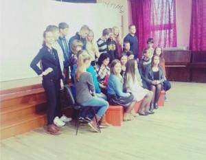 klasės nuotrauka iš šalies