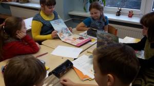 Pasakojame apie savo perskaitytą knygelę