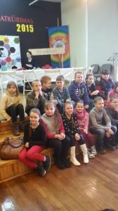 Mes Meno mokykloje renginyje