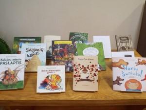vaikų bibliotekėlė