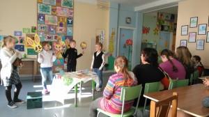 knygos pristatymas SUP klasių parodoje
